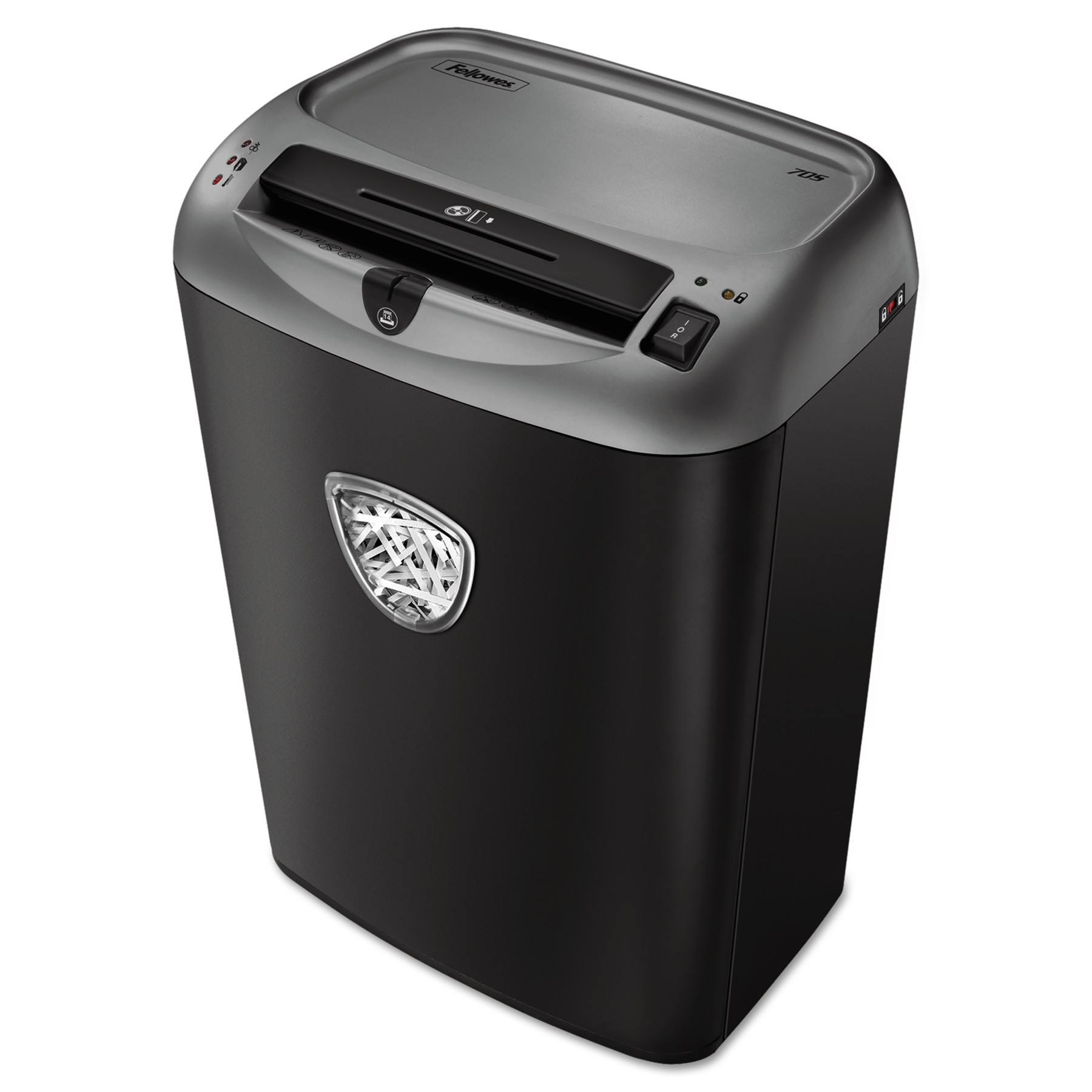 Fellowes Powershred 70S Medium-Duty Strip-Cut Shredder, 14 Sheet Capacity -FEL4671001