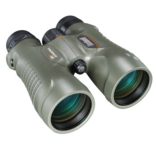 Bushnell Trophy Xtreme Binoculars 10x50mm, Green, Roof Prism by Bushnell