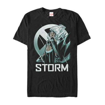 Marvel Men's X-Men Storm Logo T-Shirt (Marvel Storm)