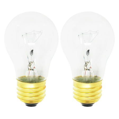 2 Pack Replacement Light Bulb For Frigidaire Ap4339192