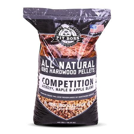 pit boss competition blend bbq pellets 40 resealable bag