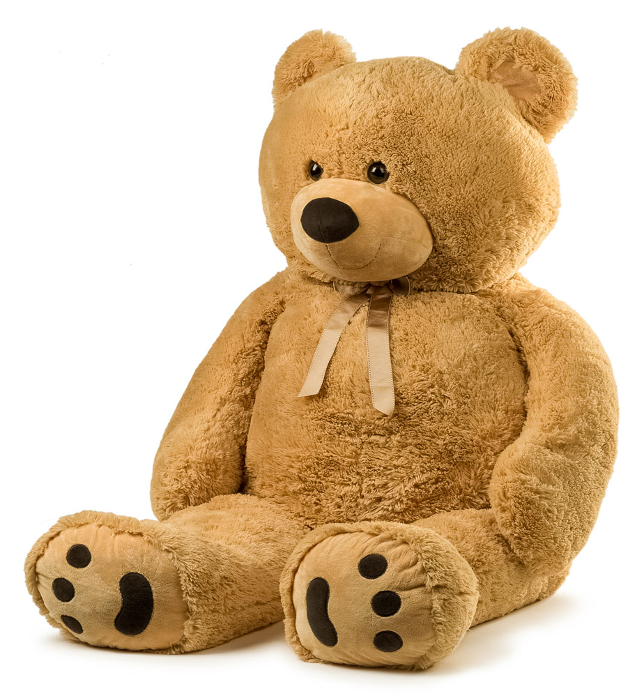 JOON Jumbo Teddy Bear, 5 Feet Tall, Tan by Joon