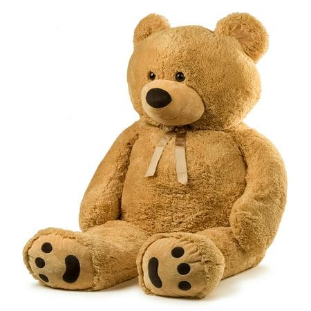 Felt Teddy Bear (JOON Jumbo Teddy Bear, 5 Feet Tall,)