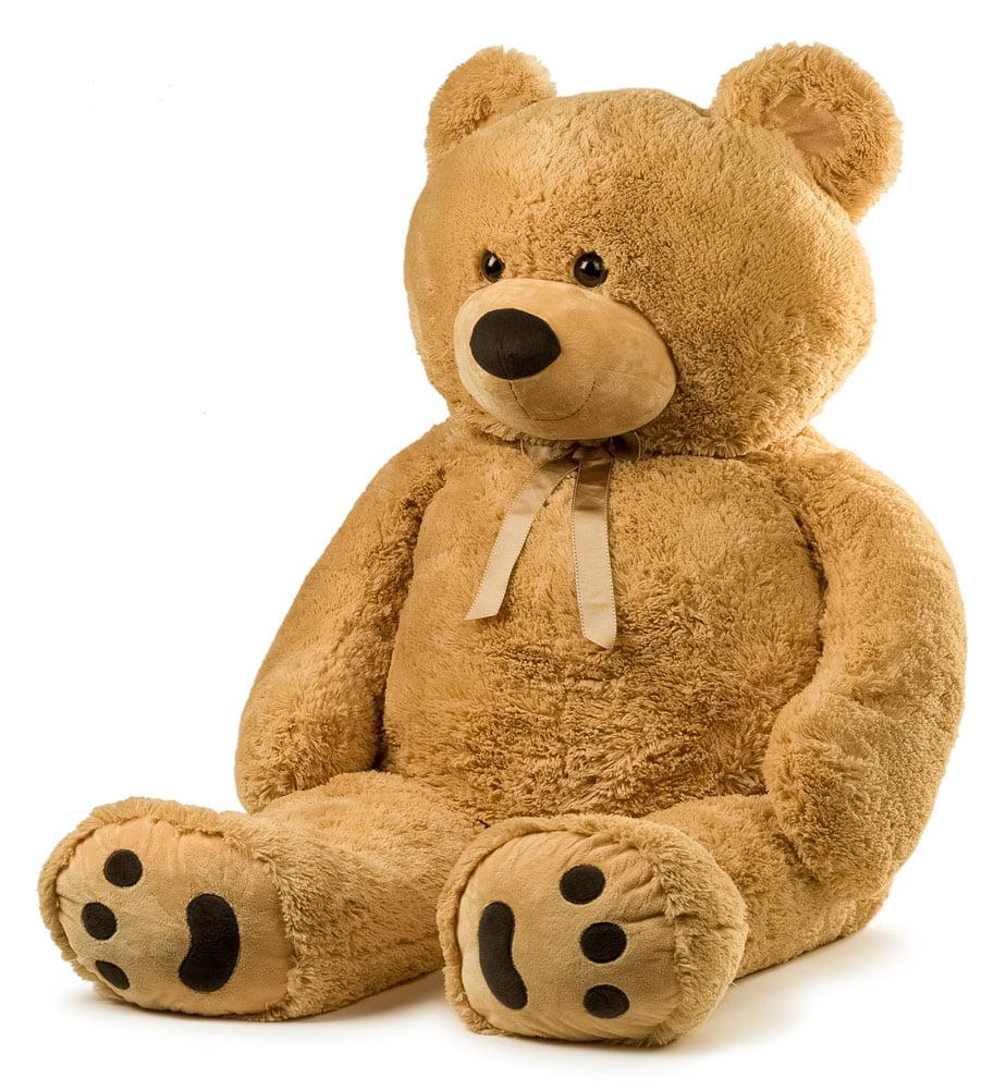 JOON Jumbo Teddy Bear, 5 Feet Tall, Tan