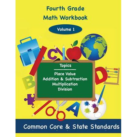 Fourth Grade Math Volume 1 : Place Value, Addition and Subtractions, Multiplication, - Halloween Multiplication Fourth Grade