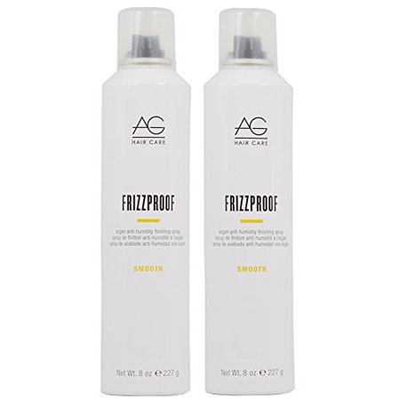 AG Hair FrizzProof Argan Anti-Humidity Finishing Spray 8 oz - 2