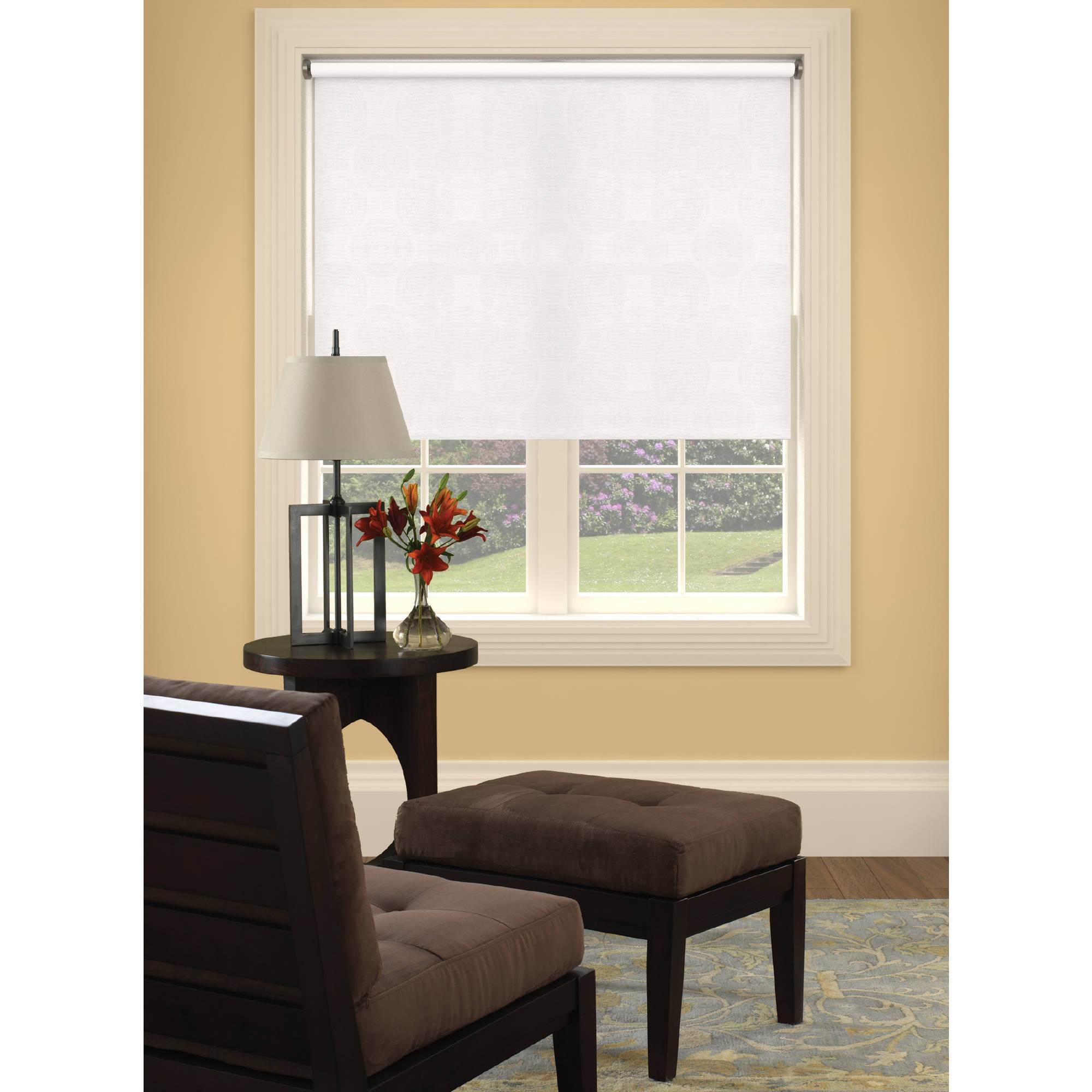 Bali Size-at-Home Vinyl Roller Shades, Available in Multiple Sizes and Colors