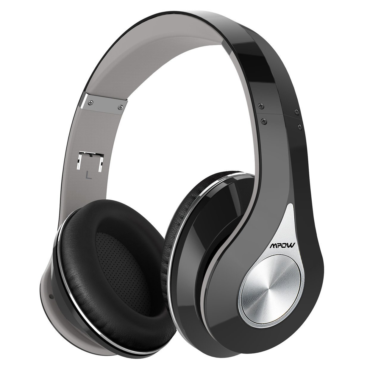 Mpow Bluetooth Headphones Over Ear Stereo Wireless Headse...