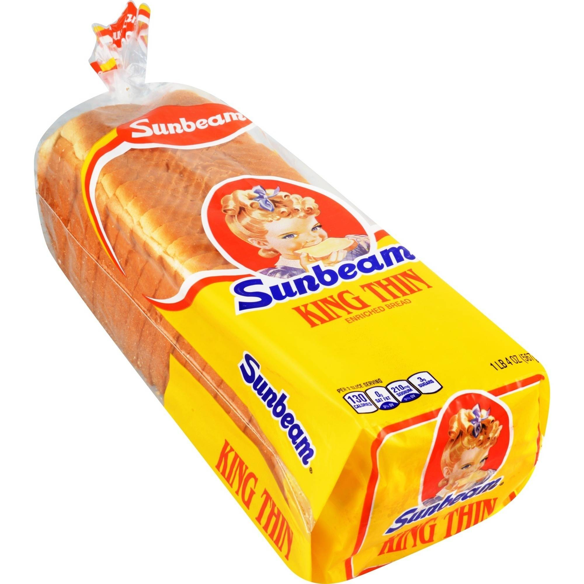 pics for gt sunbeam bread nutrition label