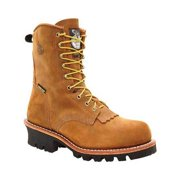 """Men's Georgia Boot G93 8"""" Safety Toe Insulated GORE-TEX Logger Boot"""