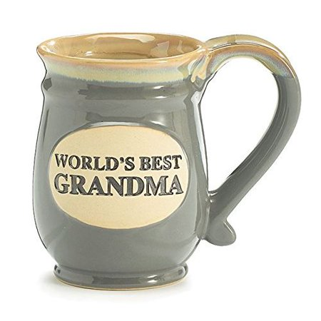 Burton & Burton Mug World's Best Grandma Gray