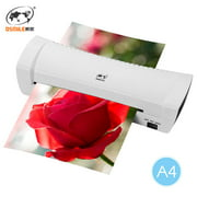 OSMILE SL200 Laminator Machine Hot and Cold Laminating Machine Two Rollers A4 Size for Document Photo Picture Credit Card Home School Office Electronics Supplies