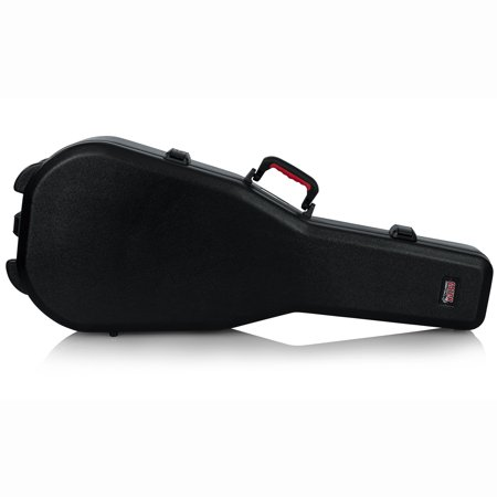 Gator Cases TSA Approved Locking Travel Case for Acoustic Dreadnought