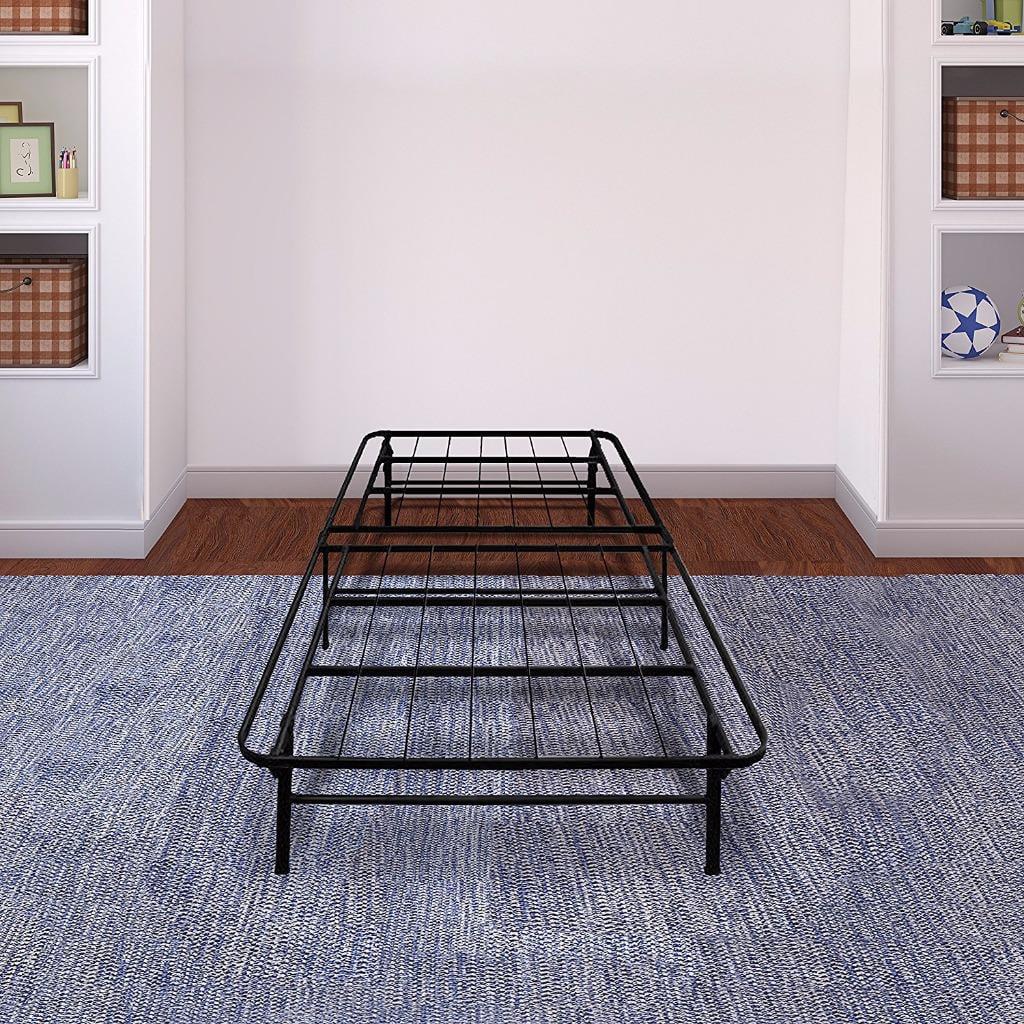 Best Price Mattress Premium Steel Platform Bed Frame   Bed Raiser   Box Spring Replacement   Maximum Under-bed Storage �... by Best Price Mattress