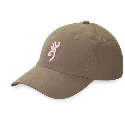 Browning Atka Lite Cap For Her, Sage/Pink