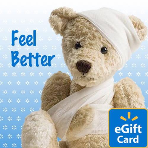 Feel Better Walmart eGift Card