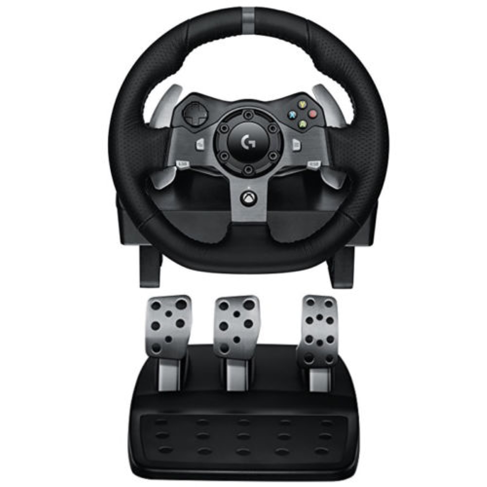 Logitech G920 Driving Force Racing Wheel for Xbox One and Windows - Black (New in Non-Retail Packaging)