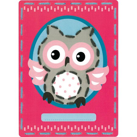 Kits 4 Kids Owl And Fox Embroidery Cards Kit 7 25 X 10 25 Set Of