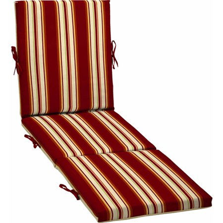Better homes and gardens outdoor chaise cushion for Chaise walmart