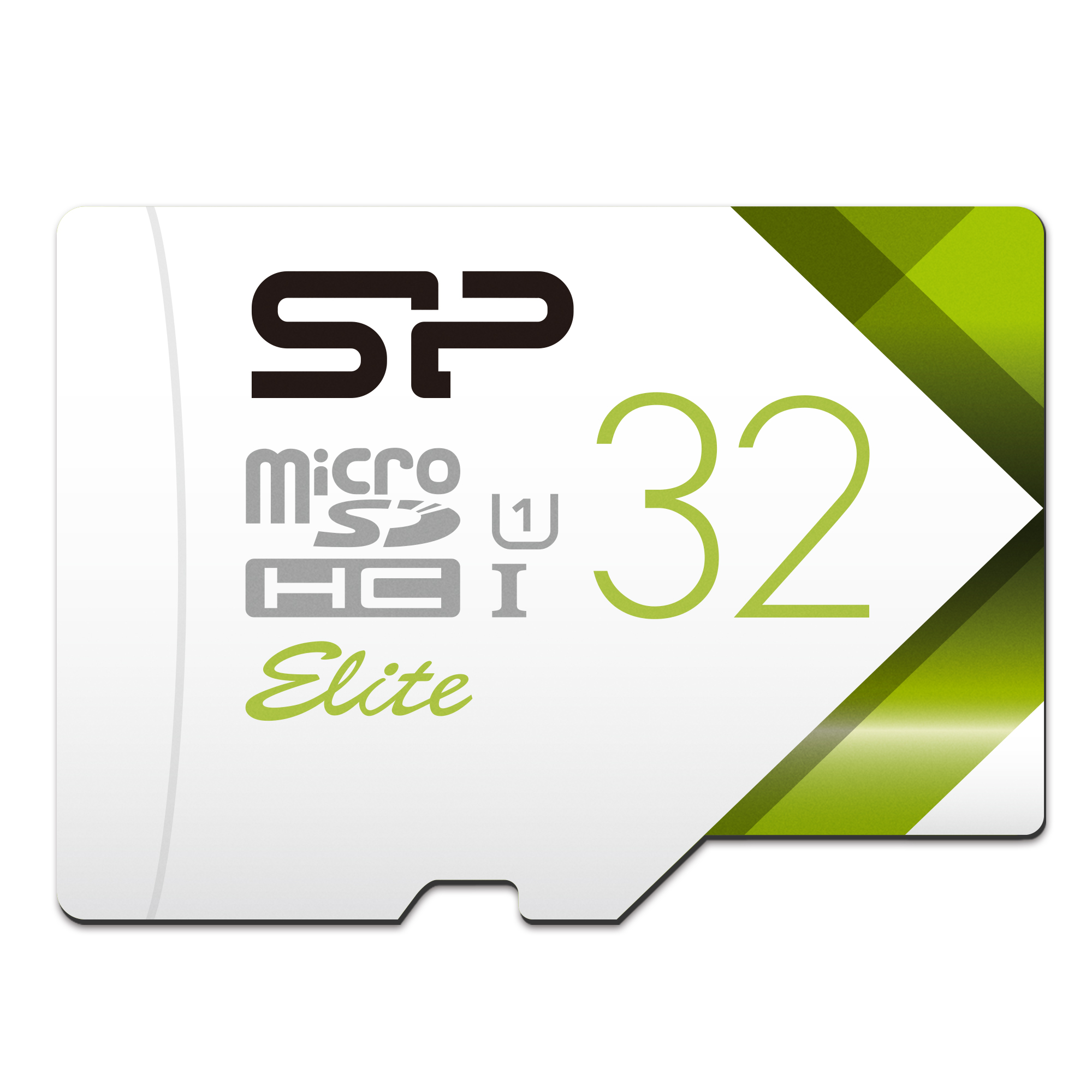 Silicon Power 32GB MicroSDHC UHS-1 Memory Card Limited Edition - with Adapter (SP032GBSTHBU1V21AU)