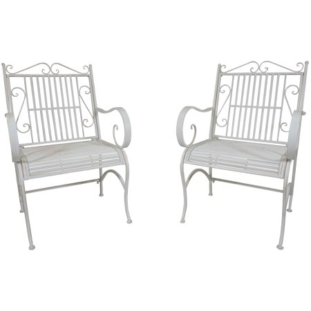metal chair porch patio garden deck decor backyard pair walmart