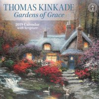 2019 KINKADE GARDENS OF G RACE WALL CALENDAR