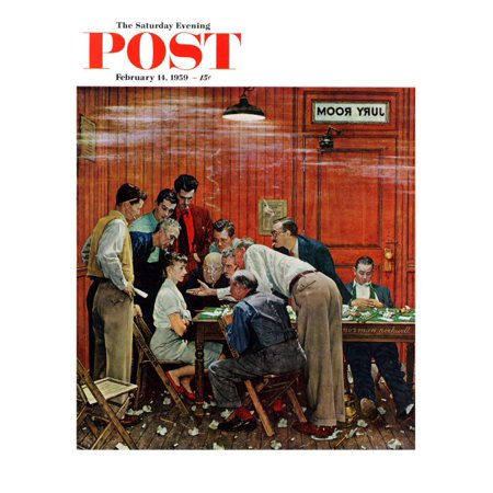 Norman Rockwell Cover (Jury