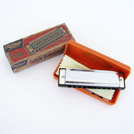 Harmonica Song Sheets - New Bluegrass Key of C BEGINNERS HARMONICA w/ Case Song Book 10 holes Blues Harp