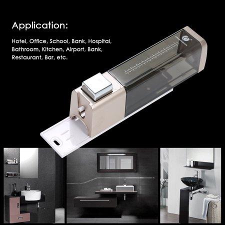 CHUANGDIAN 180ml Wall-mounted Single Bottle Manual Soap Dispenser Shampoo Box Soap Dispenser & Holder Toilet Hand Washing Liquid Shampoo Shower Gel Dispenser - image 2 de 7