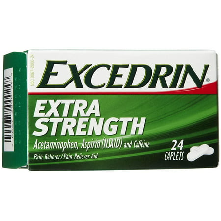 Excedrin Extra Strength Pain Reliever Caplets 24