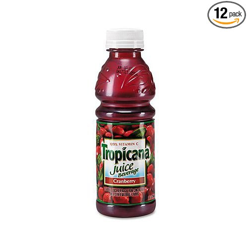 12 PACKS : Tropicana Cranberry Juice, 32-Ounce by