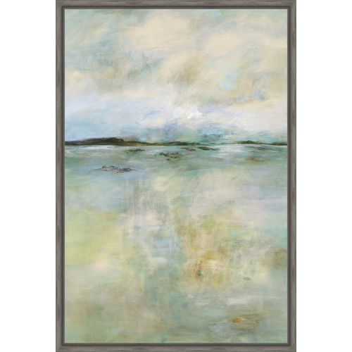 Ashton Wall D cor LLC Trends Thoughtful Framed Painting Print