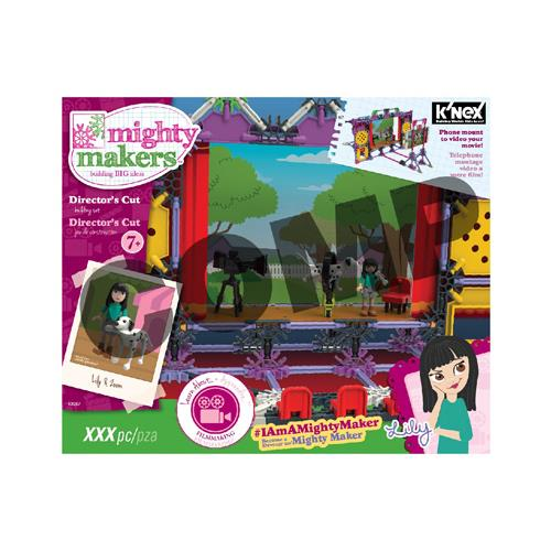 Knex Limited Partnership Group 43067 Mighty Makers Director's Cut Building Set by Knex Limited Partnership Group