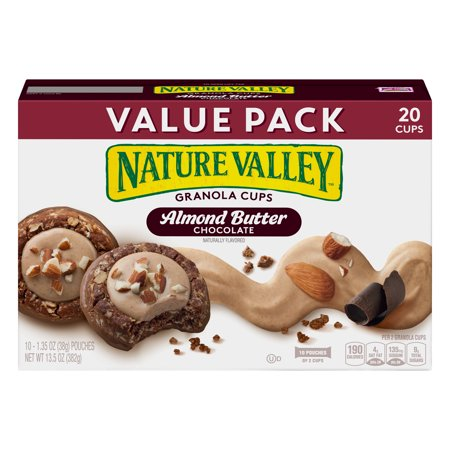 Nature Valley Almond Butter Double Chocolate Granola Cups 135 Oz