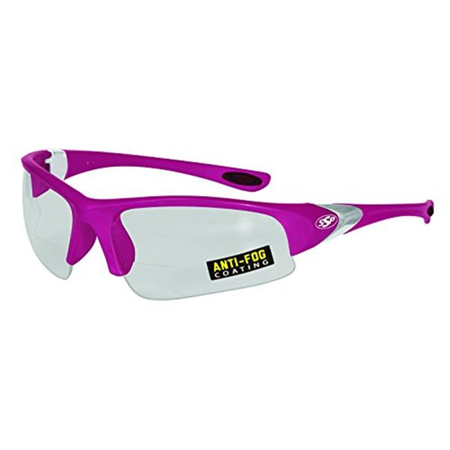 SSP CSLOCOTO PNK CLAF 250 Locoto 2.50 Pink Frame & Clear Anti-Fog Lens Chef Readers Glass