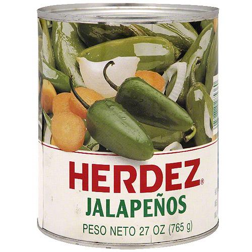 Herdez Jalapenos, 27 oz (Pack of 12)