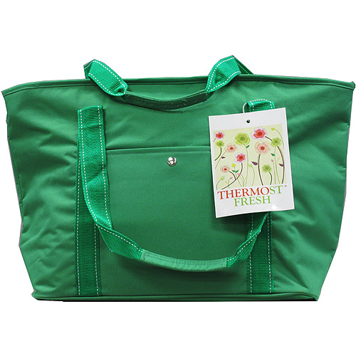 Quest Eco-Friendly Insulated Grocery Bag, Green