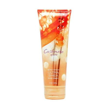 bath & body works cashmere glow 8.0 oz ultra shea body cream