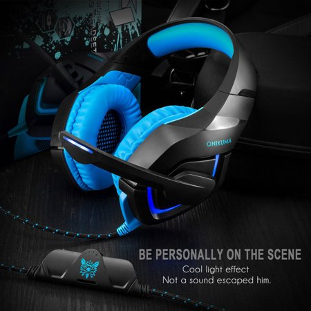 Gaming Headset Music Headphone Mic For PC Laptop PS3 PS4 Xbox 360E