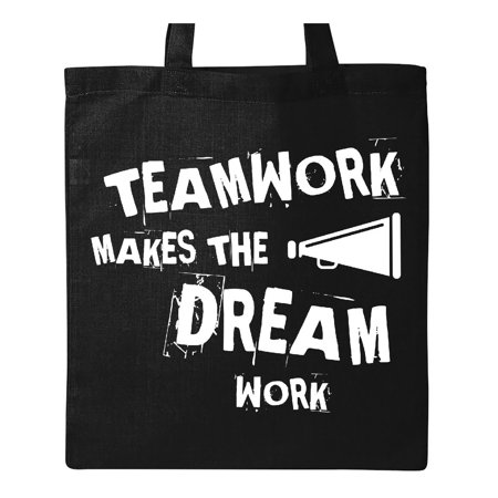 Cheerleader Teamwork Tote Bag Black One Size](Cheerleader Bags)