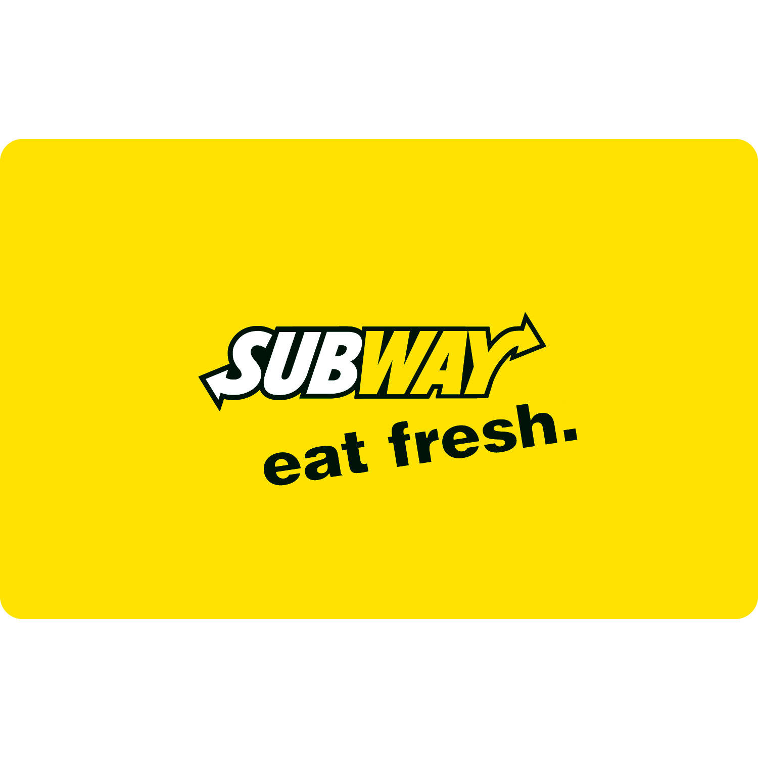 subway $25 t card walmart
