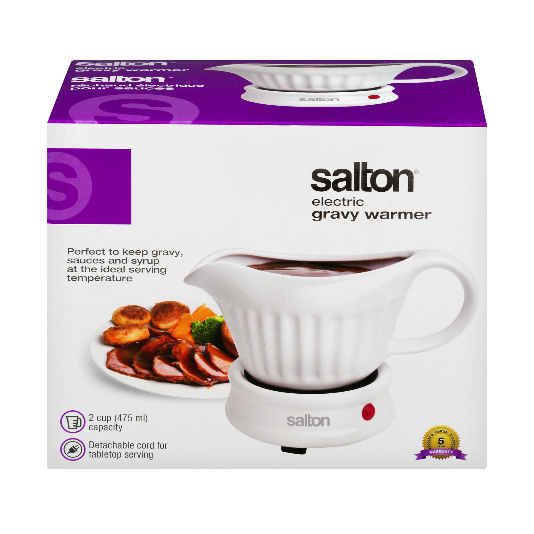Salton Electric Gravy Warmer, 1.0 CT
