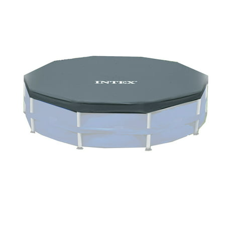 Intex 12' Round Frame Above Ground Pool Debris Cover with Drain Holes