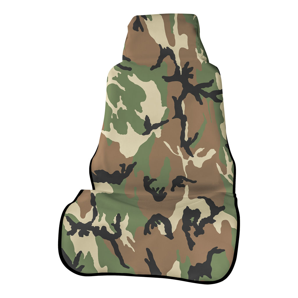 ARIES 3142-20 CAMOUFLAGE FRONT SEAT DEFENDER CAMO