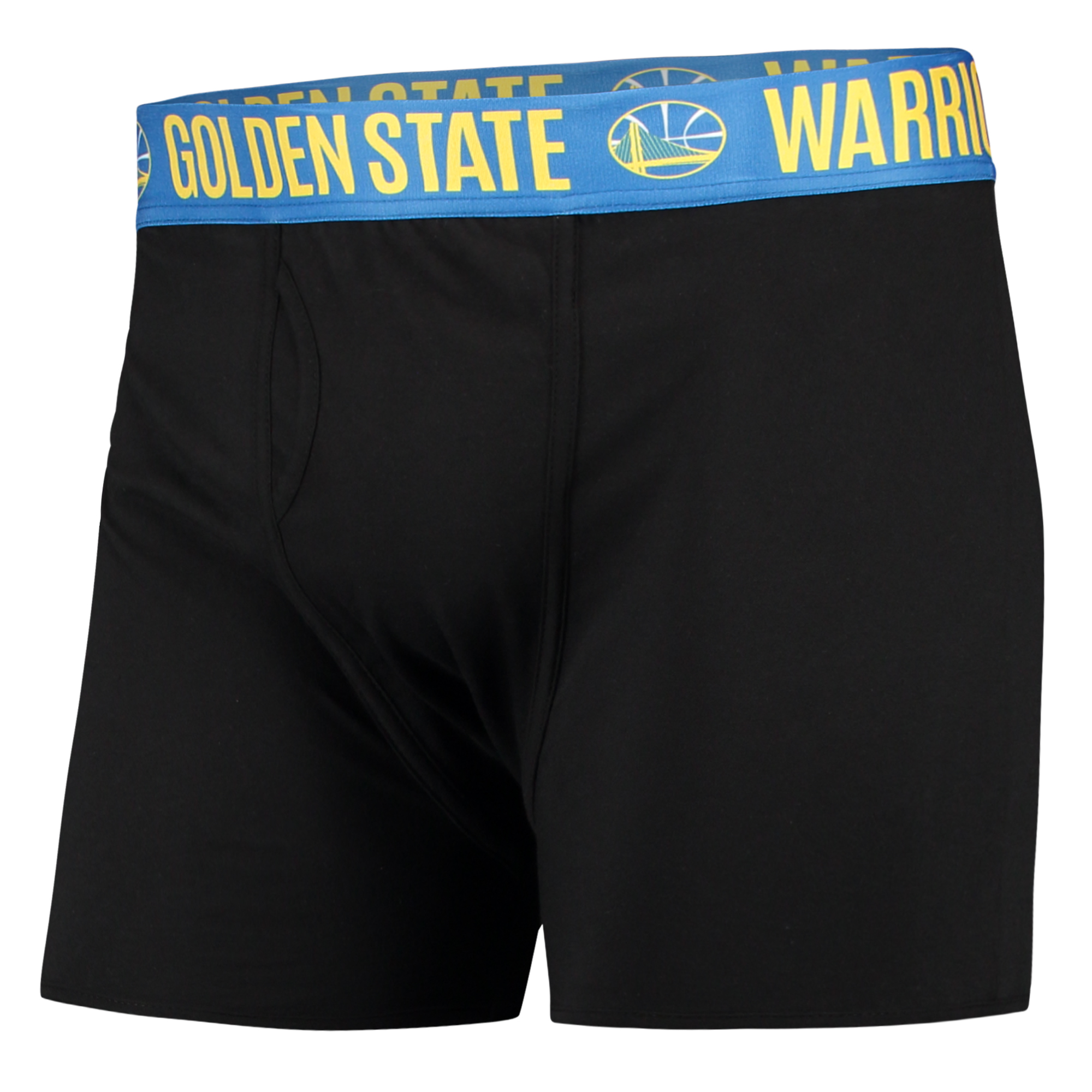 Golden State Warriors Concepts Sport Boxer Brief with Sublimated Waistband - Black