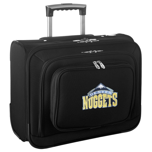 Denver Nuggets Carry-On Rolling Laptop Bag - Black - No Size