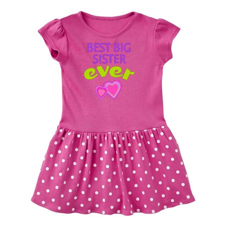 Best Big Sister Ever Toddler Dress