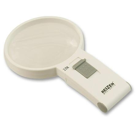 Reizen Maxi-Brite LED Handheld Magnifier - 2.5X - 100mm Reizen Maxi Brite Magnifier
