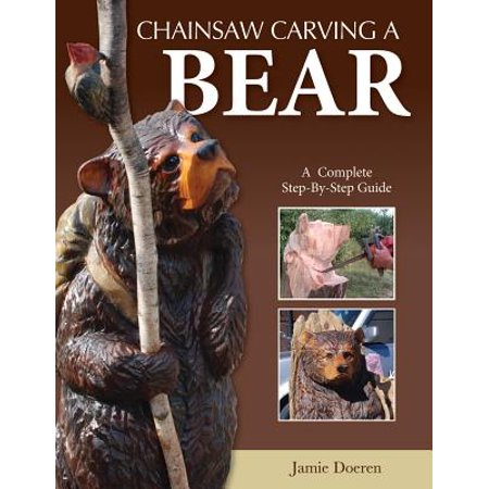 Bear Carving - Chainsaw Carving a Bear