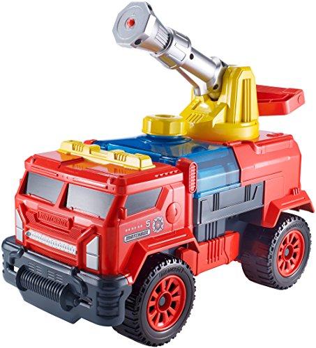 Matchbox Aqua Cannon Fire Truck Rig by Mattel